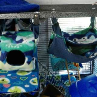 Small Animal Hammock Set