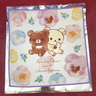 限定日本小熊and白熊cafe 毛巾仔