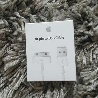 Apple 30 Pin To Usb Cable