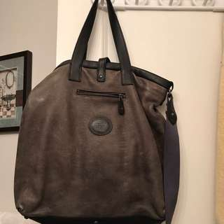 Brand New Roots Leather Bag
