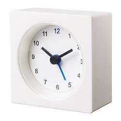 Alarm Clock White Vackis IKEA