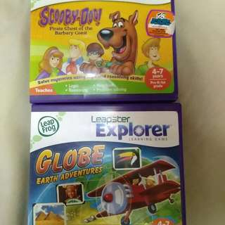 Leap Frog Leapster Explorer Learning Games