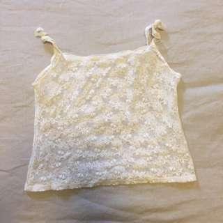 Vintage Lace Singlet