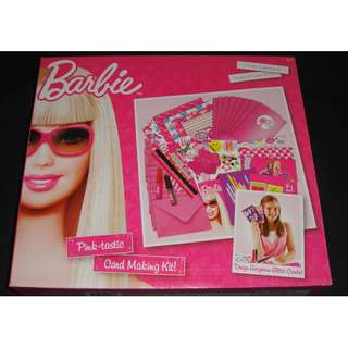BNIB Barbie Card Making Kit
