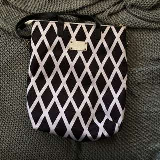 Revlon Black and White Bag