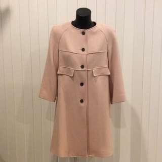 'Zara' Dusty Pink Coat