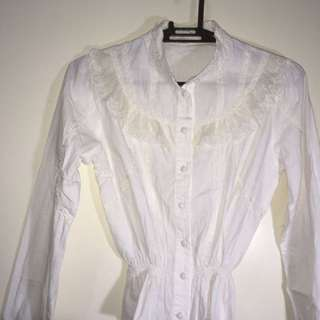 Traditional White Long Sleeve