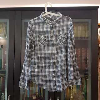 Checkered Cotton On Shirt