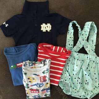 lot of baby clothes