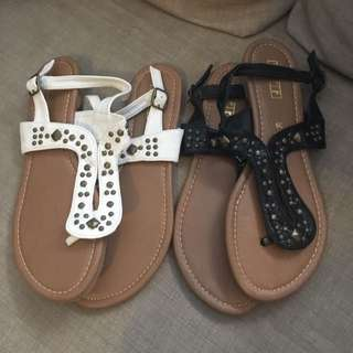 Sandals $5 For Both