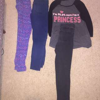 Pants And A Tshirt $8 Dollars Each