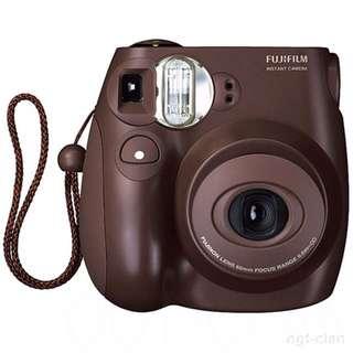 Fujifilm Instant Film Camera Mini 7s Chocolate