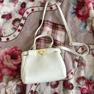 No Brand White Bag
