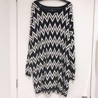Sportsgirl Oversized Knit Jumper/Jumper Dress