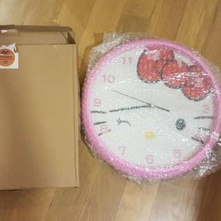 Hello Kitty Clock / Wall Clock / Silent Clock