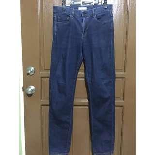 Uniqlo Navy Blue Pants