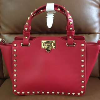 Chilli Red High End Fashion Bag