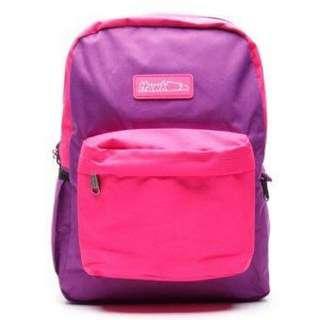 REPRICED! Hawk Backpack (Pink & Grey)