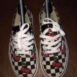 Vans Authentic Cherry Checkers