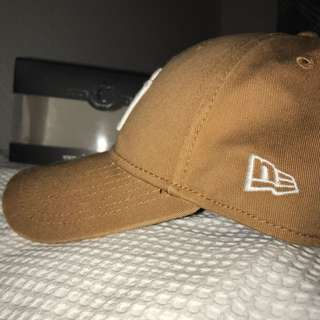 Tan Yankees Baseball Cap