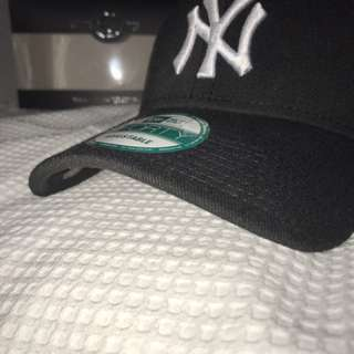 Black Yankees Baseball Cap