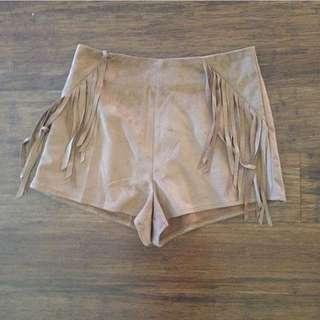 Tan Brown Soft Shorts