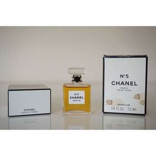 CHANEL No5 Pure Parfum 7.5ml ORIGINAL FORMULA VINTAGE