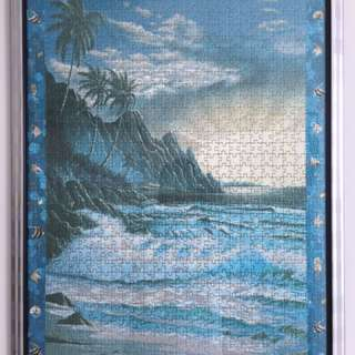 Jigsaw Puzzle With Frame