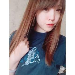 深藍海洋短袖T恤