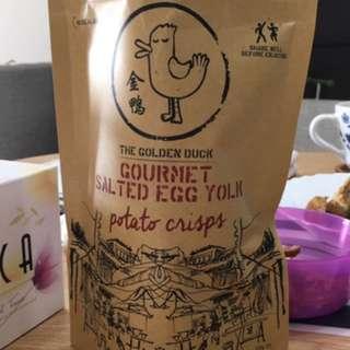 PO Golden Duck Salted Egg Potato Chips