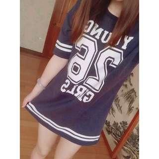 CACO長版棒球T恤