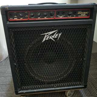 PEAVEY BASIC 112 BASS AMP