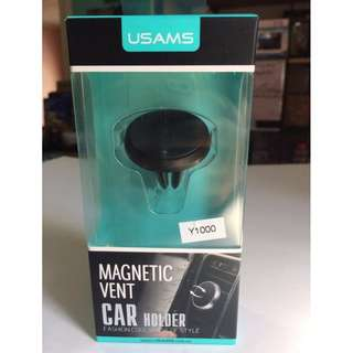 Car Holder Magnetic Vent Cellphone holder USAMS