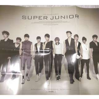 Super Junior Bonana Poster
