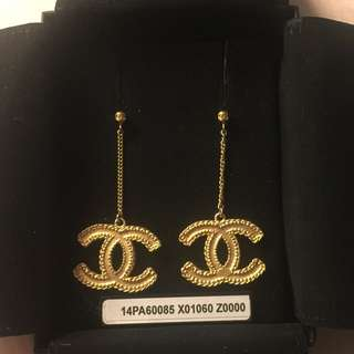 CHANEL BAROQUE DROP EARRINGS