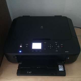 Canon MG5570 Scanner / Printer with refillable ink tank