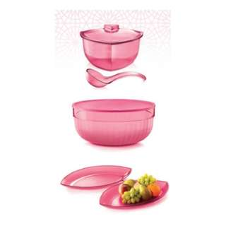 Authentic Tupperware - Special Edition Roza Set
