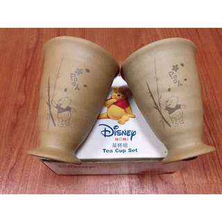 迪士尼小熊維尼茶杯組