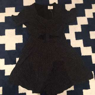 Playsuit With Cut Outs