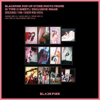 [READY STOCK] BLACKPINK Pop Up Store Photo Frame (Lisa)