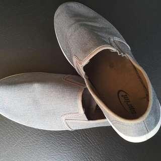 Gray Slip On