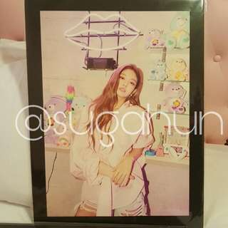 [READY STOCK] BLACKPINK Pop Up Store Photo Frame (Jennie)