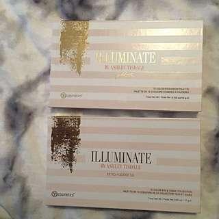 Ashley Tisdale x bh Cosmetics Illuminate 2 x Palettes
