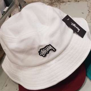 Stussy Hat White