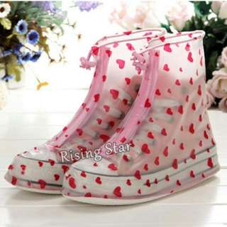 Fashion rain shoe covers Also Available In Color Blue