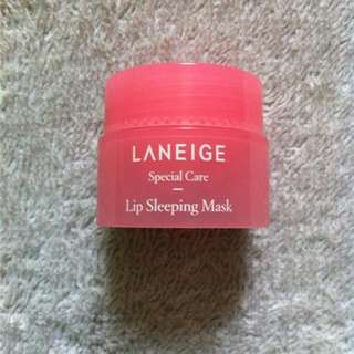 Laneige Lip Sleeping Mask Sample