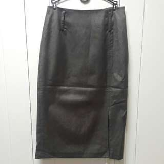 高腰半截裙 High Waisted Skirt