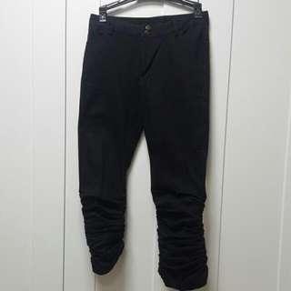 窄腳九分西褲