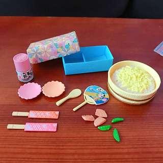 re-ment 日本 桃屋 懷舊 的餐食 盒玩