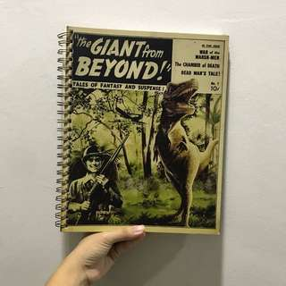 Typo Dinosaur notebook